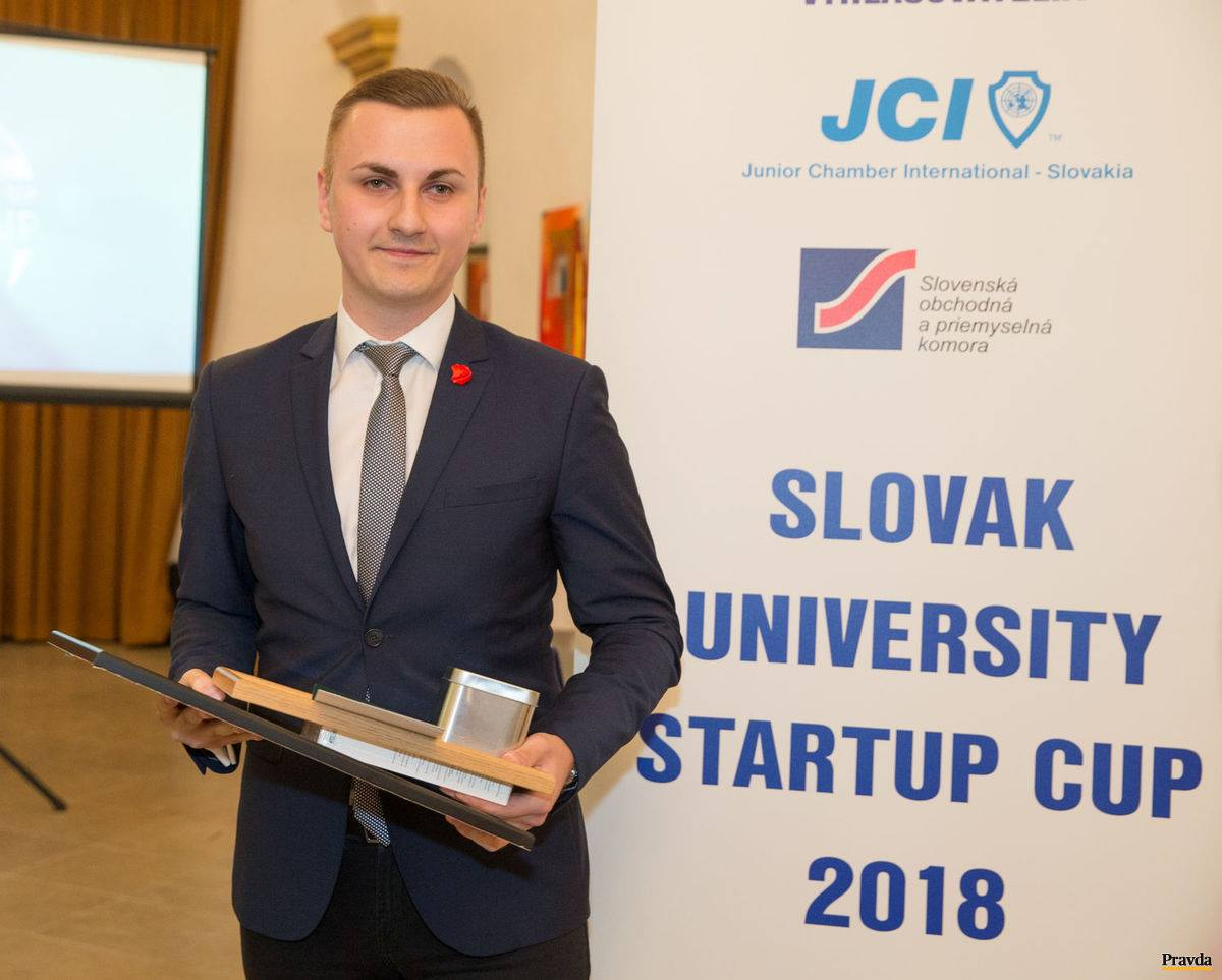 Slovak University Startup Cup 2018 - Lukáš Kianka
