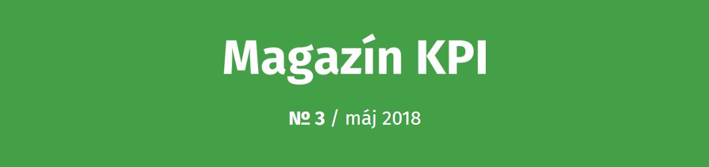 Magazín KPI, 3. číslo - banner