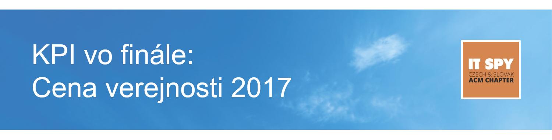 Banner IT Spy 2017 - Cena verejnosti