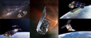 Gaia, SWARM, Herschel Infrared Telescope, Sentinel 2A, Sentinel 5P